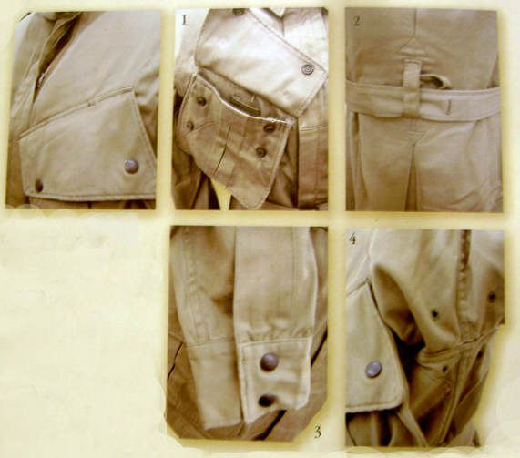 veste m42 focusGIGDC - Détails de la veste M42