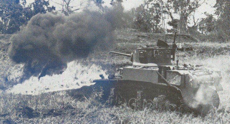 M3a1BowFlame sm - Les tank Lance-Flammes