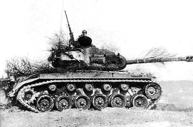 M26Pershing 2 - Après guerre, un M26 de l'armée Belge