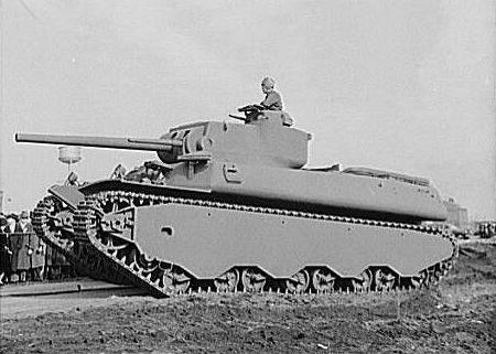 Heavy tank OWI 2 - Un M6 heavy tank en décembre 1941.