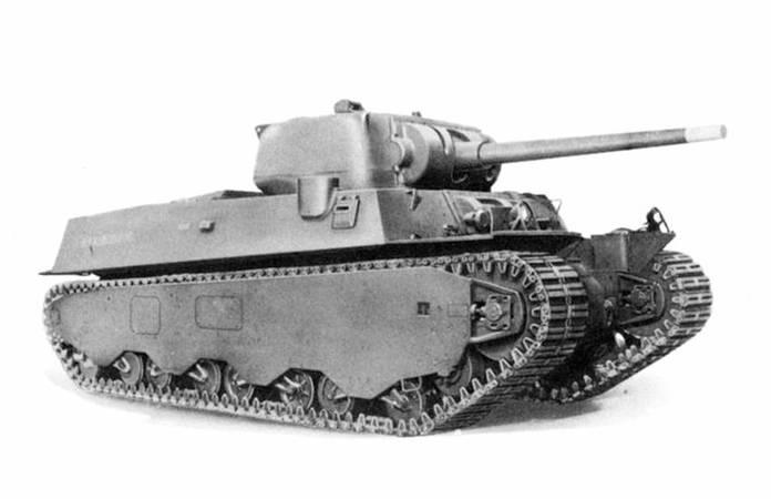 Un M6A1 super Heavy Tank (image provenant du TM 9-2800)