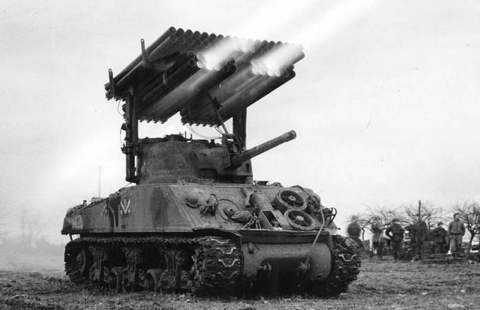 Un T34 en France, vers 1944