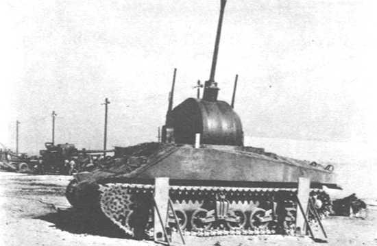 T52MGMCsherman - Vue d'un T52 MGMC