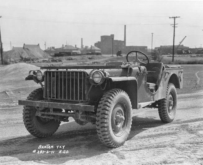 "1941 Bantam jeep BRC 40 - La jeep Bantam ""BRC40 4x4 Light Reconnaissance Vehicle"""