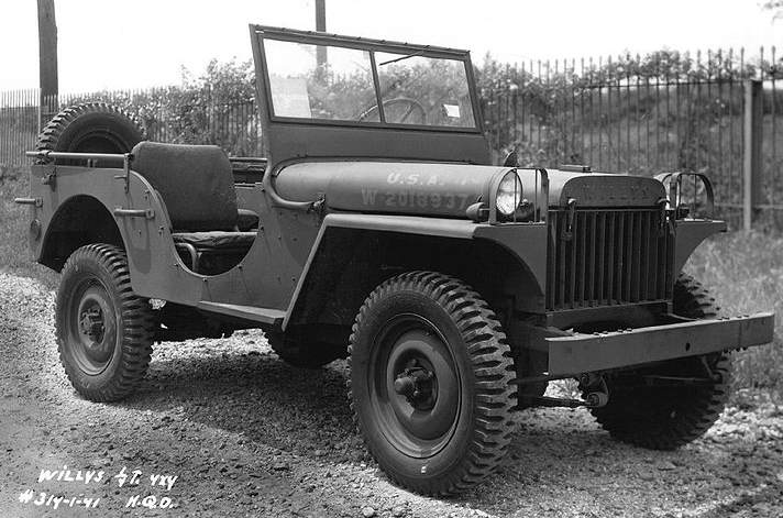 1941 Willys MB Light Truck - La Willys MA