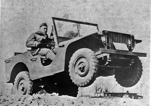 La Ford Pigmy en test au camp Holabird, fin novembre 1940