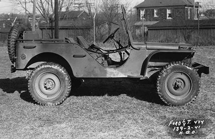 La Ford GP en 1941