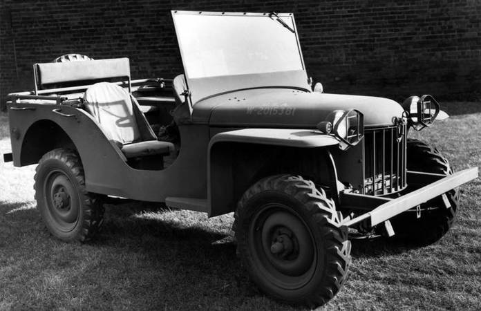 La Jeep Bantam Number One