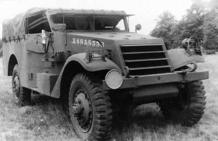 Un M3 Scout Car