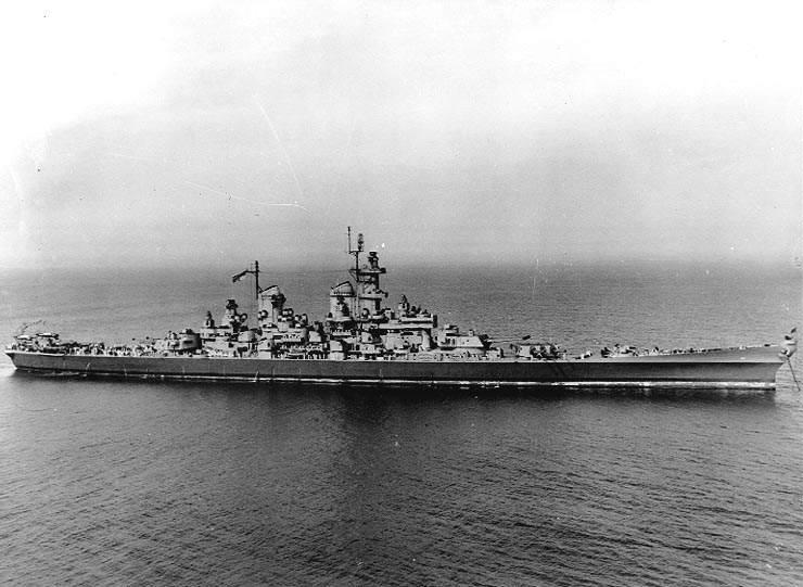 USS Wisconsin BB 64 - Le USS Wisconsin de 30 mai 1944