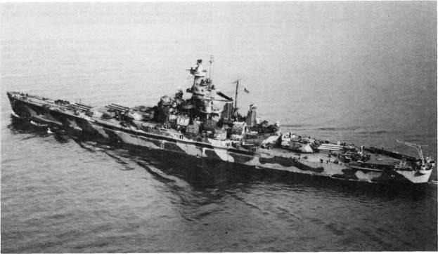 Alabama iii - Le USS Alabama le 1er décembre 1942