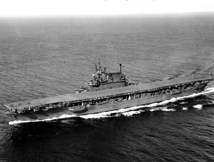 USS Enterprise (CV 6) in Puget Sound, September 1945 - USS_Enterprise_(CV-6)_in_Puget_Sound,_September_1945