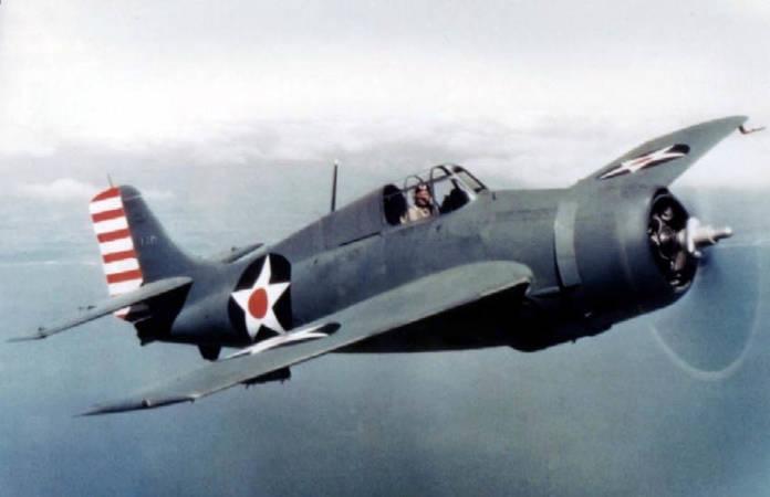 Le Grumman F4F Wildcat