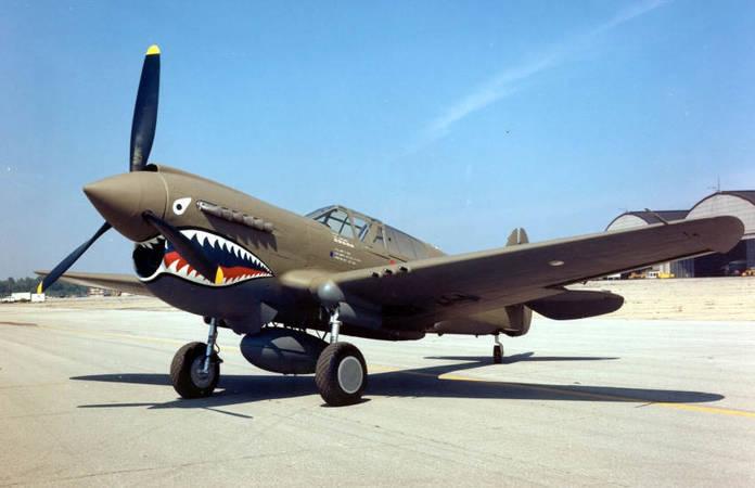 Un Curtiss P-40 Warhawk du 23d Fighter Group (surnommé