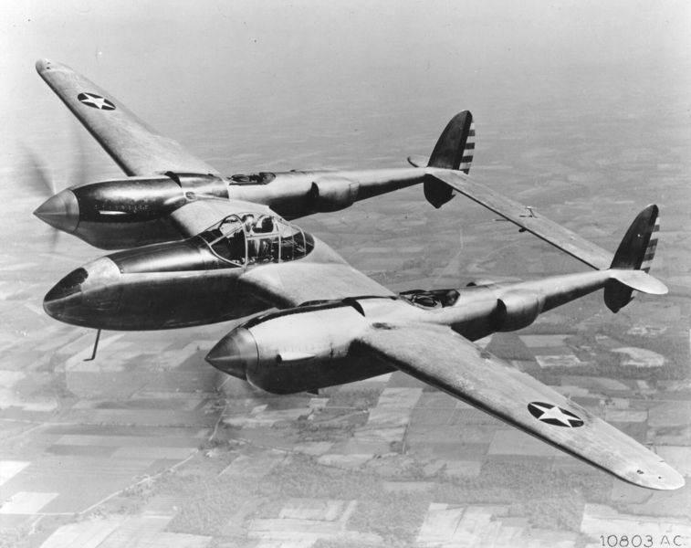 020903 o 9999b 059 - Un des 13 appareils d'essai produits : le YP-38