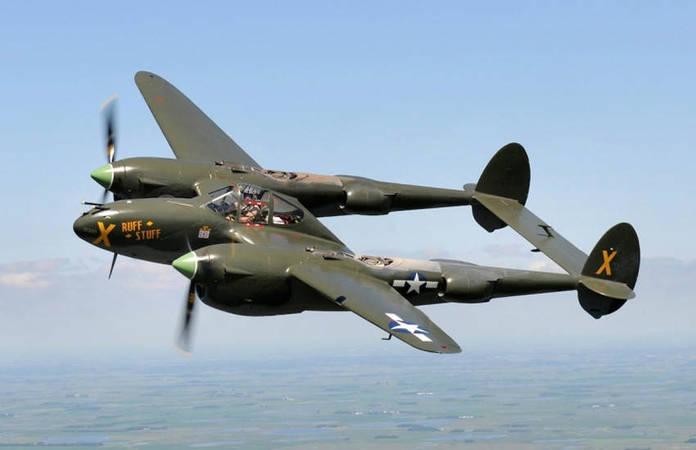 Le Lockheed P-38 Lightning