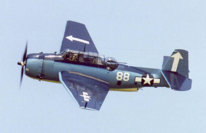 Photo du TBM/TBF Avenger