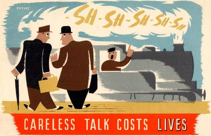 10 affiches Careless talks costs lives