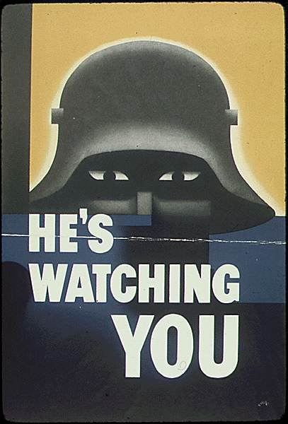 POSTERS USA0666 - He's watching you