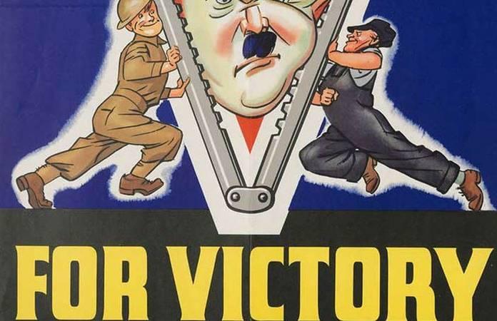 7 affiches de propagande contre l'Allemagne nazie