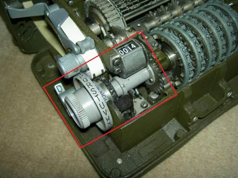 36 fonctionnement - Position de la roue de réglage